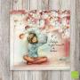 """CS 940 - Carte postale """"Protéger les jolis moments de bonheur"""""""
