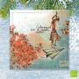 """CS 793 - Carte de voeux Mon Amie Luce """"Embarquement pour de nouvelles aventures"""""""