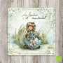 """CS 945 Carte postale """"Le bonheur c'est maintenant"""" Mon Amie Luce"""