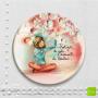 """MGN 823 - Magnet """"Protéger les jolis moments de bonheur"""" - Mon amie Luce"""